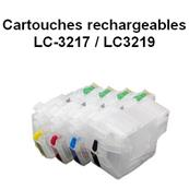 4 Cartouches rechargeables LC-3217 / LC-3219